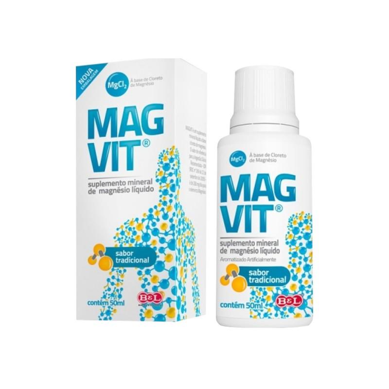 Cloreto de Magnésio 50ml Magvit