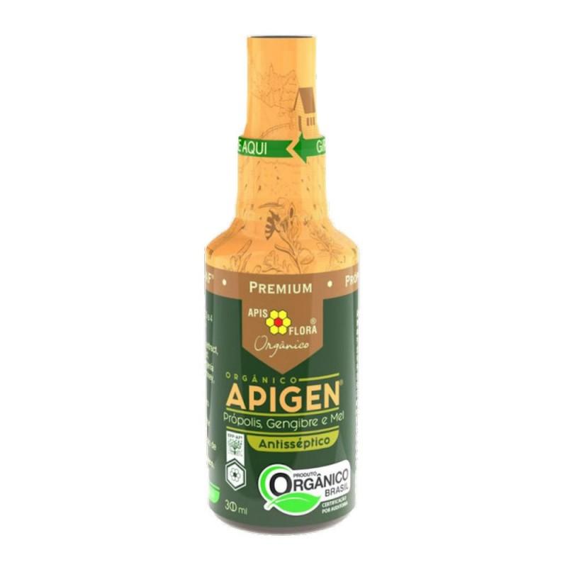 Spray apigen orgânico própolis mel e gengibre 30ml - Apis flora
