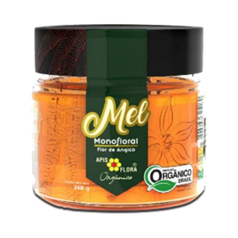 Mel monofloral de angico orgânico 240gr