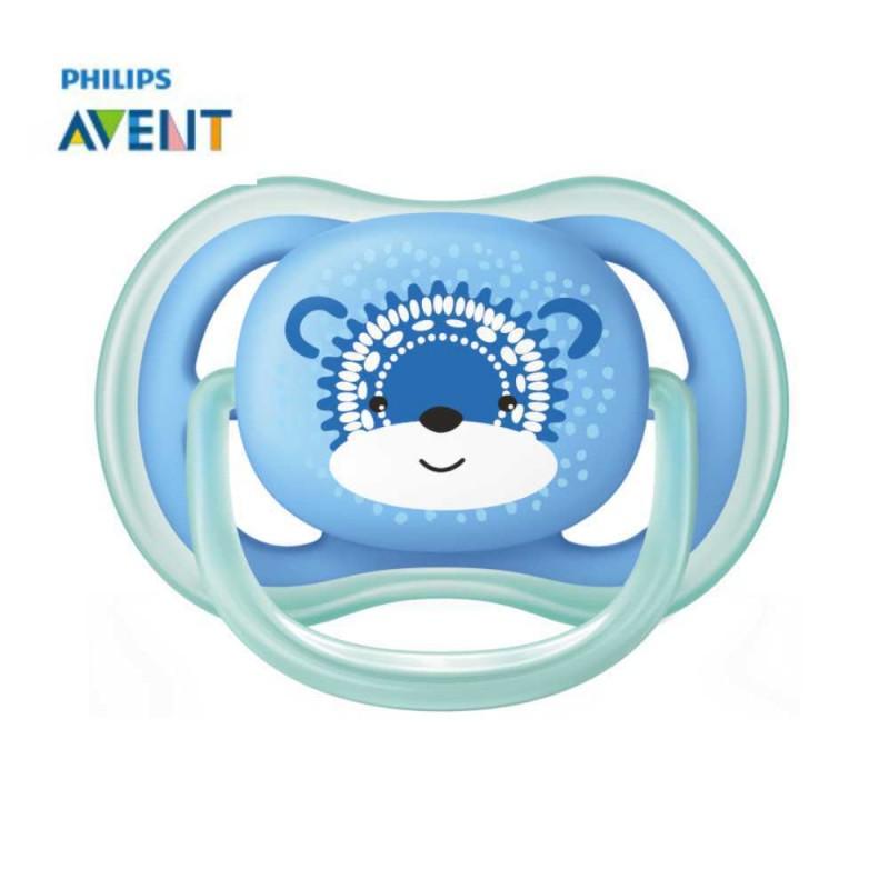 Avent Chupeta ultra air 6-18 meses, azul raposa 1 unidade
