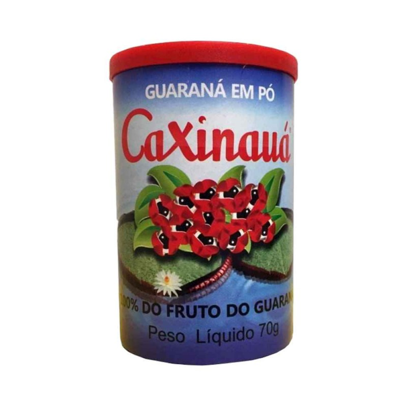 Guaraná em pó 70gr