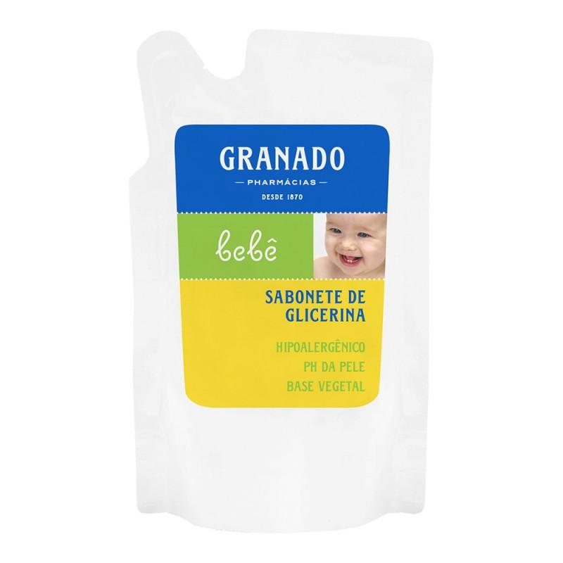 Refil sabonete líquido glicerina bebê tradicional 250ml