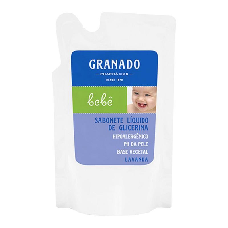Refil sabonete líquido glicerina bebê lavanda 250ml