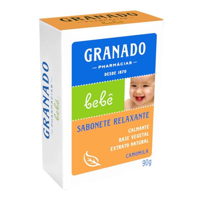 Sabonete glicerina bebê camomila 90gr