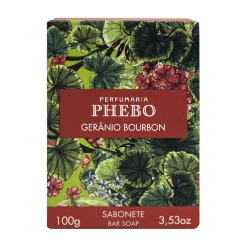 Sabonete phebo gerânio bourbon 100gr