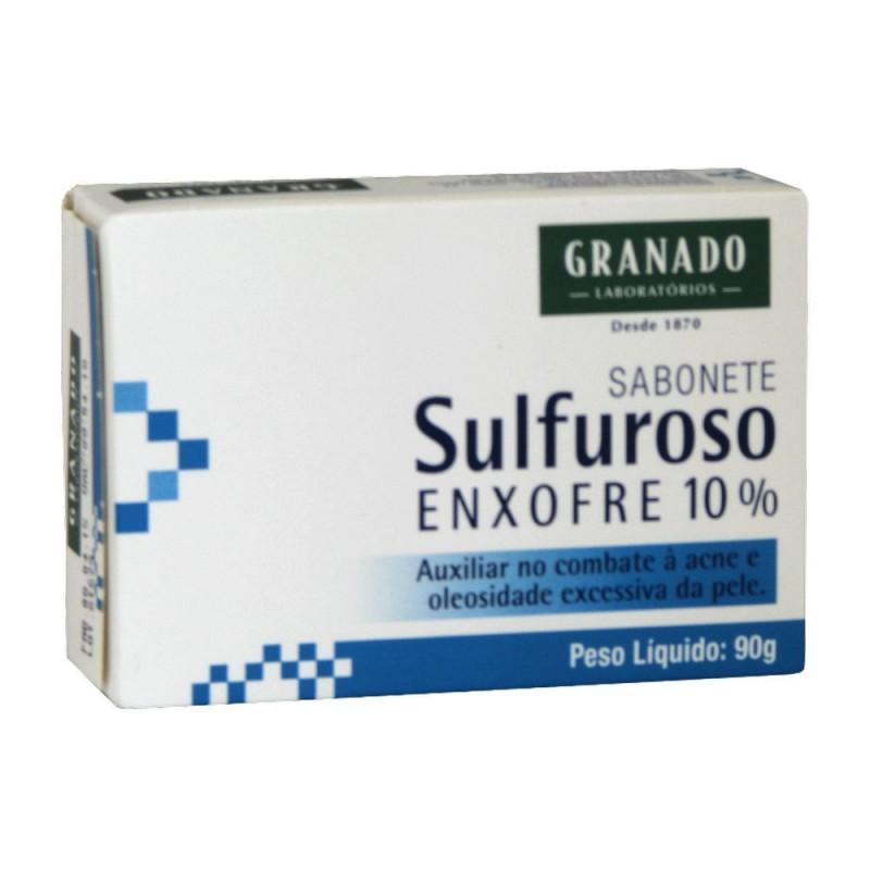 Sabonete sulfuroso 90gr