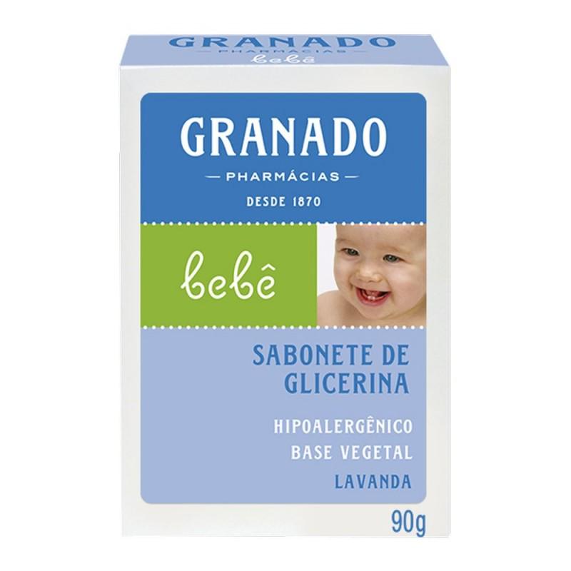 Sabonete glicerina bebê lavanda 90gr