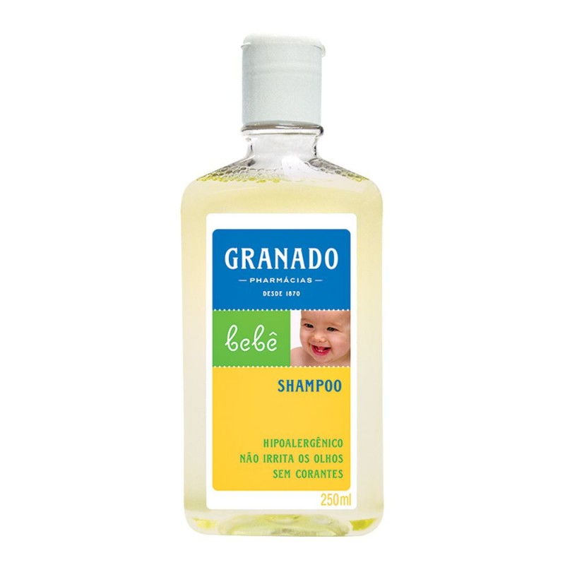 Shampoo bebê tradicional 250ml