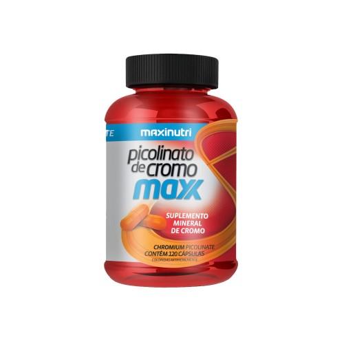 Picolinato de Cromo Maxx 120 Cáps. Maxinutri