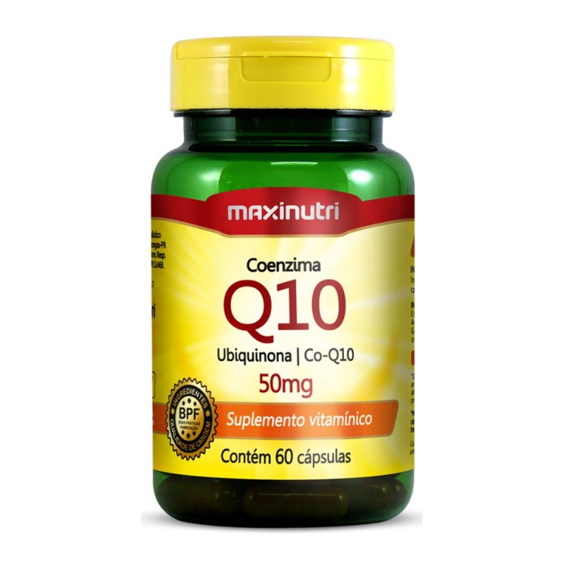 Coenzima Q10 50mg 60 cápsulas