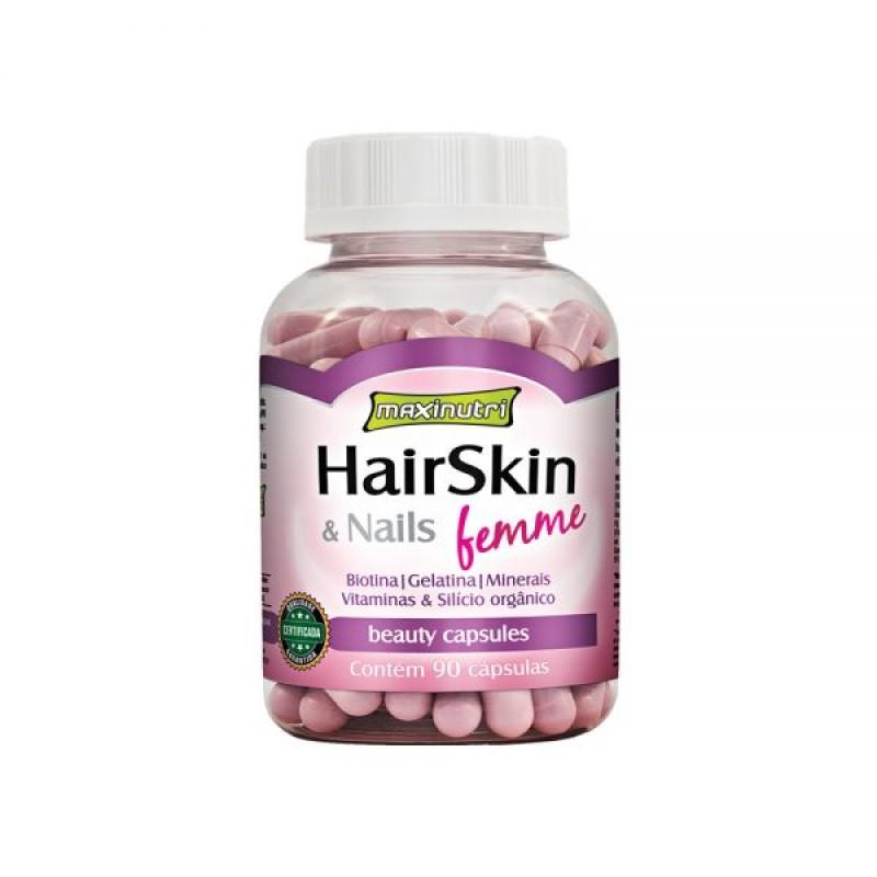 Hair Skin & Nails Femme 90 Cáps Maxinutri