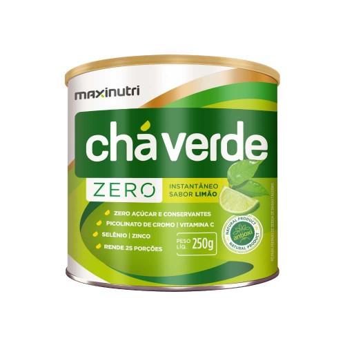 Chá Verde Limão Zero Solúvel 250g Maxinutri