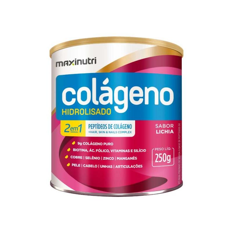 Colágeno Hidrolisado Lichia 250g Maxinutri