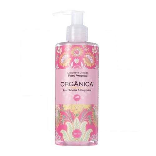 Sabonete Líquido de Framboesa e Orquídea 250 ml Orgânica