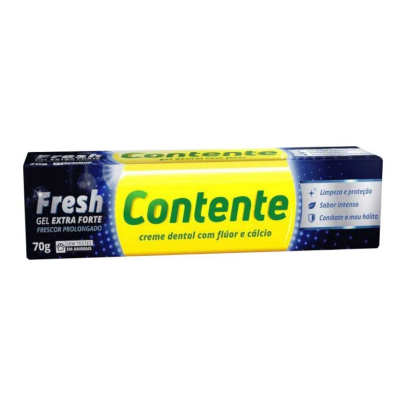 Gel dental contente fresh extra forte 70gr