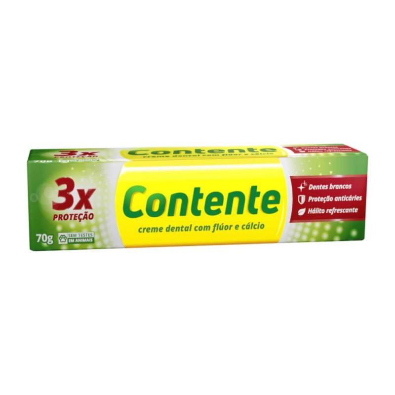 Creme dental contente tripla proteção 70 gr