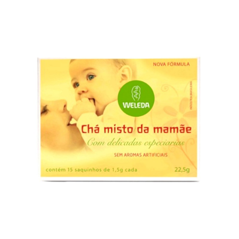 Chá Misto da Mamãe 15 Saquinhos Weleda