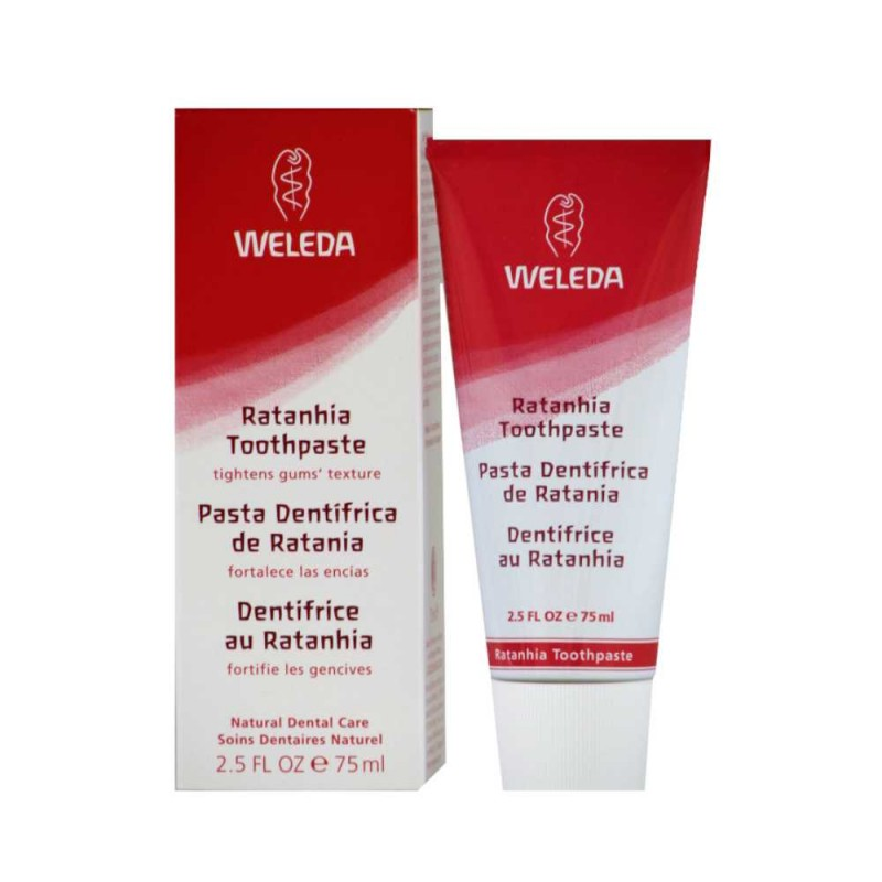 Creme dental de ratana 75ml Weleda